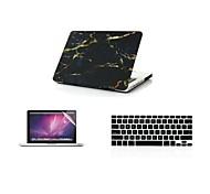 """Caso 3 in 1 moda copertura di marmo freddo + copertura della tastiera + screen per MacBook Air 11 """"Pro 13"""" / 15 """""""