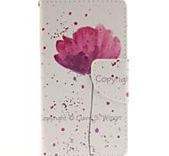 Песня для крышки случая сотового телефона дизайн орхидеи для WIKO закат 2