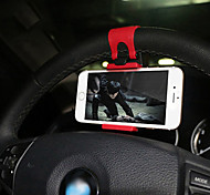 teléfono del coche titular del teléfono del coche titular de navegación para automóviles clip de dirección telescópica estante
