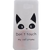 Cat Pattern TPU Material Phone Case for Samsung Galaxy A9/A710/A510/A310