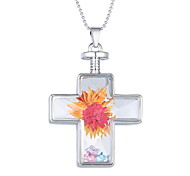 Korea Creative Cross Pendant Necklace