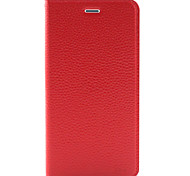 iPhone6 ​​caso plegable funda de cuero para Apple iPhone / 6 más iphone6s plus