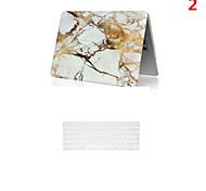 Modelo de mármol de mayor venta del caso del PVC de cuerpo completo con la cubierta del teclado para MacBook Pro con retina 15,4 pulgadas