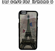 The Eiffel Tower Special Design 3D Phone Case 3D Patterns For Iphone 6/6s