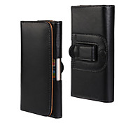 Business Leather Case With Screen Protector The Lateral Pocket Holster for iPhone 6/6S