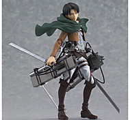 Attack on Titan Eren Jager PVC 14CM Anime Action Figures Model Toys Doll Toy