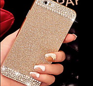 Solid Luxury Bling Glitter Back Cover Case with Diamond for iPhone 5/5S(Assorted Colors)