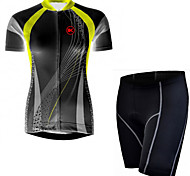 KEIYUEM Bike/Cycling Clothing Sets/Suits Unisex Short SleeveWaterproof / Breathable / Insulated / Quick Dry / Rain-Proof / Dust Proof /