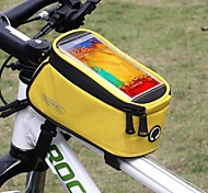5.5 Inch Touch Screen Cycling Bag Bike Bicycle Frame Iphone Holder Pannier Mobike Phone Case Bag Pouch