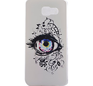 Eyes Pattern TPU Material Phone Case for Samsung Galaxy A9/A710/A510/A310