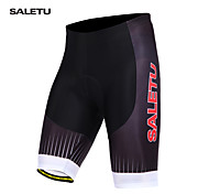 SALETU Summer Men Cycling Shorts Gel Padded Spandex Riding Shorts MTB Mountain Bike Bicycle Shorts