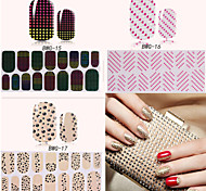 Charming Diamond Decorations Fashionable Nail Stickers Beauty Decoration Nails Nail Paste Stickers DIY