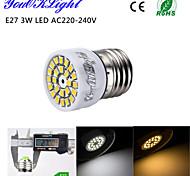 Focos LED Decorativa YouOKLight R50 E26/E27 3W 24 SMD 2835 220 LM Blanco Cálido / Blanco Fresco AC 100-240 V 1 pieza