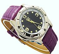 Fashion Leisure Man Leather Belt Type Waterproof Quartz Watch