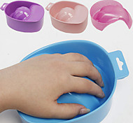1pcs Nail Foam Hand Bowl Nail Tool  Random Color