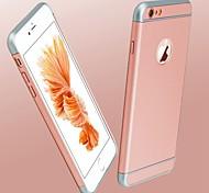 Pour Coques iPhone 6 Plus Plaqué Coque Coque Arrière Coque Couleur Pleine Dur Polycarbonate pour AppleiPhone 7 Plus iPhone 7 iPhone 6s
