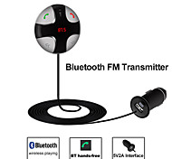 Besteye® Bluetooth FM Transmitter Car Kit Micro SD Card Music Play 5V2A USB Interface for Car Truck