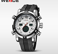 WEIDE® Brand Men Waterproof New Army Sports Quartz LED Digital Watch