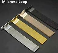 ciclo milanese per lo standard in acciaio inox cinturino da polso mela Milanese / cinghia / cinghia / sport con la clip magnetica 4 colori
