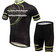 XINTOWN Ultraviolet Resistant Breathable Cycling Bike Short Sleeve Jersey Shorts Set Bicycle Sportswear Clothing Suit