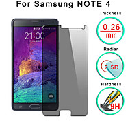 Explosion Proof Premium Tempered Glass Film Screen Protective Guard 0.3 mm Toughened Membrane Arc For Galaxy  Note 4