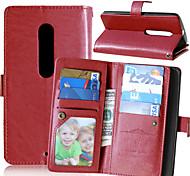 karzea ™ -Flash-PU-Ledertasche mit Kartenhalter und stehen für moto x play / moto Lux (verschiedene Farben)