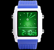Ms. Common Male Fashion Dual Display Waterproof Sports Watch Cool Watches Unique Watches