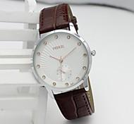 a moda de cerâmica quartzo branco pulso contraída assistir à prova d'água