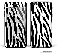 "iPhone 6/6S Body Art Skin Sticker: ""Zebra Pattern"" (Abstract Series)"