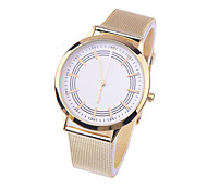 Splendid New geneva watches Womens Quartz Stainless Steel Wrist Watch Lady Woman style Watches