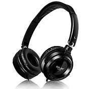 Salar EM-520 Music Headphone Omputer Mobilephones Sports Headphone  Classic Black and White