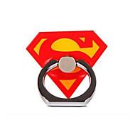 Super Man Metal Ring Adjustable Holder for iPhone & Samsung