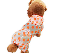 Dog Hoodie / Clothes/Clothing Green / Blue / Yellow / Purple / Orange Summer Polka Dots Fashion