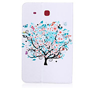 Trees Pattern PU Leather Material Tablet Sleeve for Samsung Galaxy Tab E 9.6 (T560)