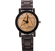 Women's Fashion Watch Geometry Steel Quartz Watch