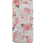 Peony Pattern TPU Soft Phone Case for Samsung Galaxy A3 10(2016)/A5 10(2016)/A7 10(2016)