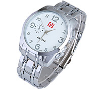 Ladies' Watch Fashion Digital Steel Band Quartz Watch