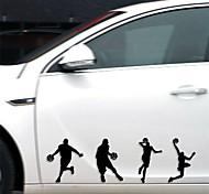 смешно Slamdunk автомобиля стикер окна автомобиля этикета стены автомобиля стиль (1шт)