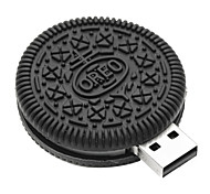 ZPK38 64GB Small Chocolate Cookies USB 2.0 Flash Memory Drive U Stick