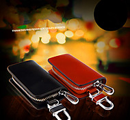 Car Key Buckle Car Supplies Genuine Leather Key Bag / Man Waist Hanging Key Sets Of General Purpose