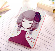 Little Girl Series Eight PU Leather Full Body Case With Stand for iPad Mini 3/2/1