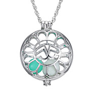 Are Hollow Heart Set Luminous Necklace
