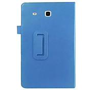 Folding Leather Case Lie fallow PU Tablet Computer Protection Shell for Samsung TAB T377 E 8.0 Assorted Colors