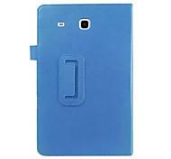 Klappledertasche brach liegen PU-Tablet-Computer Schutzschale für Samsung Tab t377 e 8.0 Farben sortiert