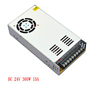 JIAWEN AC110V/ 220V to DC 24V 15A 360W Transformer Switching Power Supply