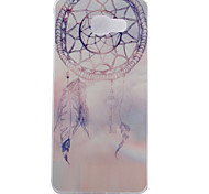 Campanula Pattern TPU Soft Phone Case for Samsung Galaxy A3 10(2016)/A5 10(2016)/A7 10(2016)