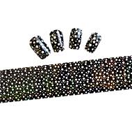 10pcs 100cmx4cm Star Shape Glitter  Nail Foil Sticker  DIY Beauty  Nail Decorations  Sticker STZXK01-49