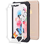 Big Butterfly Pattern TPU Phone Bumper Case Drop Resistance for iPhone 6/6S
