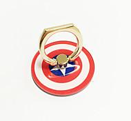 Shield Design Metal Ring Adjustable Holder for iPhone & Samsung