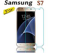 cwxuan® 9h 0.26mm 2.5d templado de pantalla de cristal protector de la película del protector para Samsung Galaxy s7